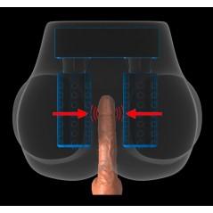 Vibromasseur Ultra Doux de 26 cm Nature Skin