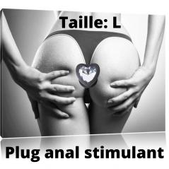 Plug Anal Ecarteur Fisting Diam. 6 cm - Plug And Play
