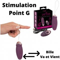 Plug Anal 3 Choc Electrique 7 Vibrations Télécommandé Rechargeable - Royal Pleasure Kelly