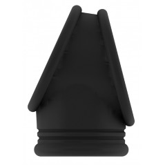 Collier noir en dentelle