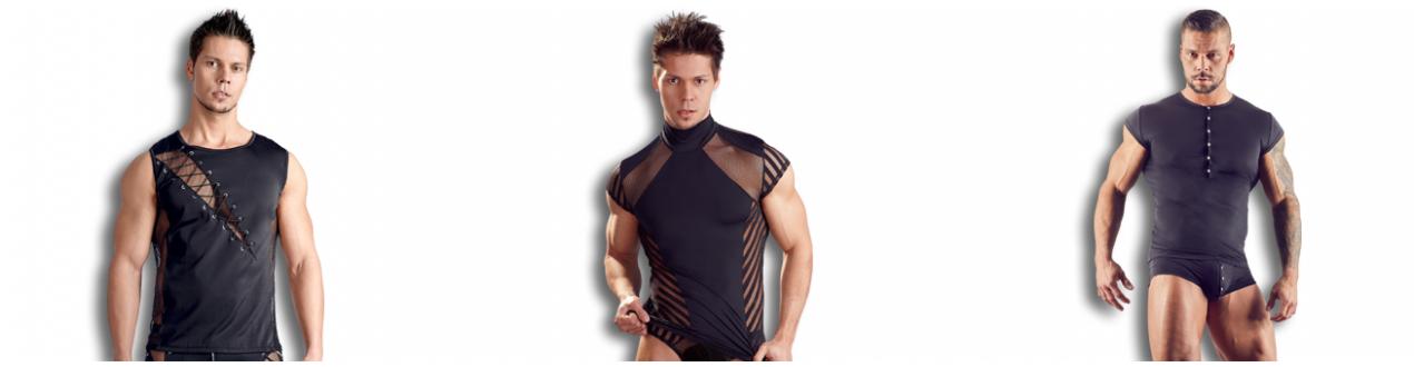 Débardeur et Tee-shirt Homme Sexy- Fabriqué en Europe.
