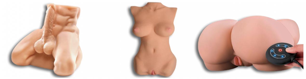 Fessiers Bustes Love Doll Poupée - Envoie Discret - Paiement Sécurisé.
