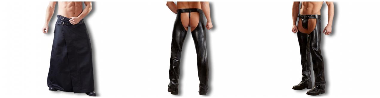 Pantalons Chaps kilt jupe - Envoie rapide et discret.