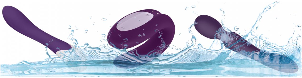 Vibromasseur Waterproof - Jouez sous la Douche ou dans votre Bain.