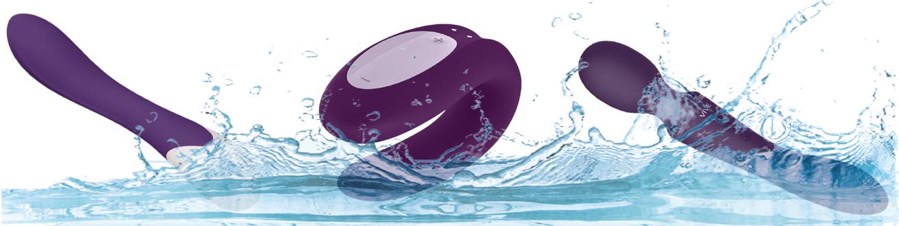 Vibromasseur waterproof