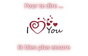 Je t'aime plus que tout